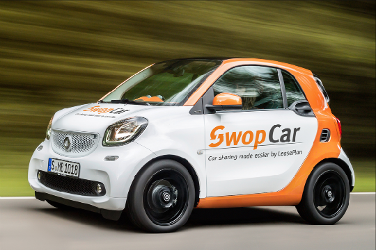 LeasePlan's SwopCar meets mobility needs of employees by launching a self-service, on-demand and hassle free car sharing service